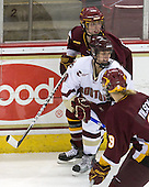 Laura Fridfinnson (Minnesota-Duluth - 19), Allison Szlosek (BC - 8) - The University of Minnesota-Duluth Bulldogs defeated the Boston College Eagles 3-0 on Friday, November 27, 2009, at Conte Forum in Chestnut Hill, Massachusetts.