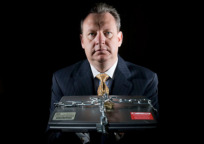 Stanley Lowe is the acting Chief Financial Officer for the Federal Trade Commission and talked to Federal Times regarding the need for securing laptops and thumb drives. September, 8 2007 (James J. Lee / Army Times)