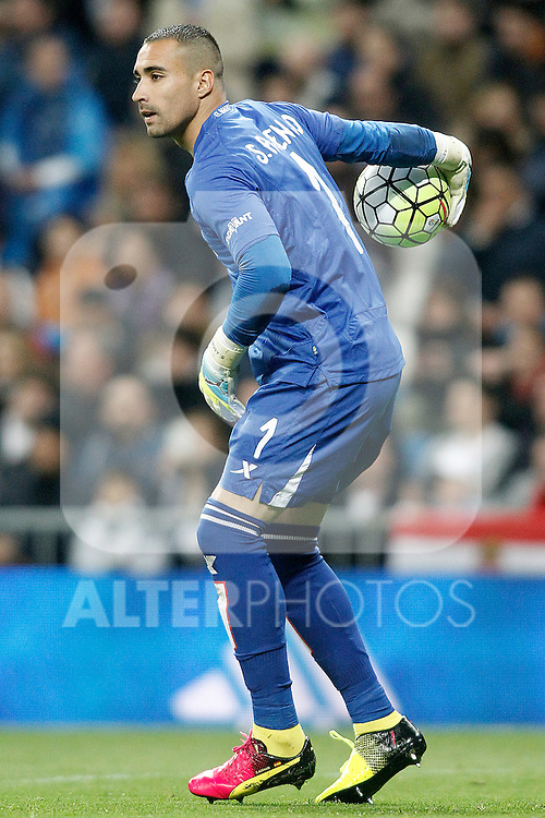 Villareal's Sergio Asenjo during La Liga match. April 20,2016. (ALTERPHOTOS/Acero)