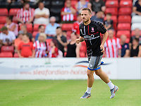Lincoln City's Jack Payne<br /> <br /> Photographer Chris Vaughan/CameraSport<br /> <br /> Football Pre-Season Friendly - Lincoln City v Stoke City - Wednesday July 24th 2019 - Sincil Bank - Lincoln<br /> <br /> World Copyright © 2019 CameraSport. All rights reserved. 43 Linden Ave. Countesthorpe. Leicester. England. LE8 5PG - Tel: +44 (0) 116 277 4147 - admin@camerasport.com - www.camerasport.com