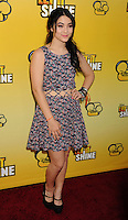 LOS ANGELES, CA - JUNE 05: Fivel Stewart attends Disney's 'Let It Shine' Premiere held at The Directors Guild Of America on June 5, 2012 in Los Angeles, California.