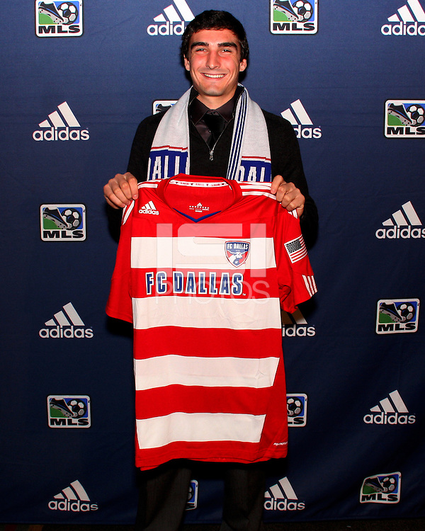 Bobby Warshaw at the 2011 MLS Superdraft, in Baltimore, Maryland on January 13, 2010.