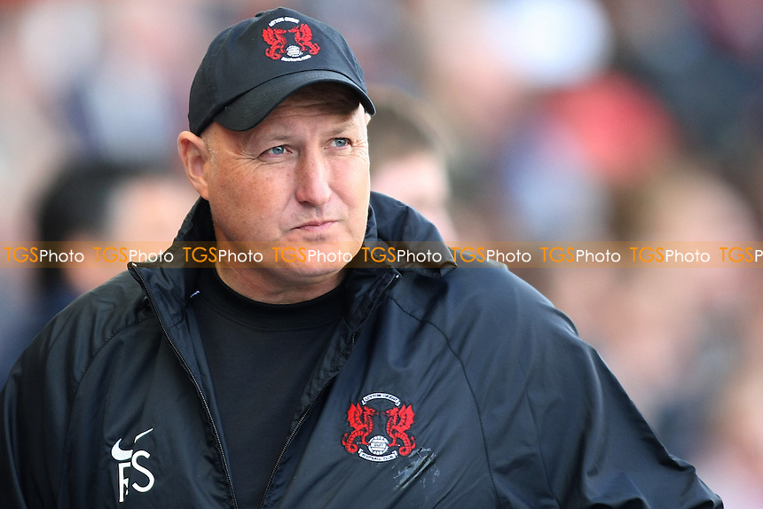 Russell Slade Manager of Leyton Orient- Leyton Orient vs Doncaster Rovers - NPower League One Football at the Matchroom Stadium, Brisbane Road, London - 29/09/12 - MANDATORY CREDIT: George Phillipou/TGSPHOTO - Self billing applies where appropriate - 0845 094 6026 - contact@tgsphoto.co.uk - NO UNPAID USE.