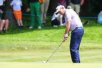 David Drysdale chips onto the 3rd green during the BMW PGA Golf Championship at Wentworth Golf Course, Wentworth Drive, Virginia Water, England on 25 May 2017. Photo by Steve McCarthy/PRiME Media Images.
