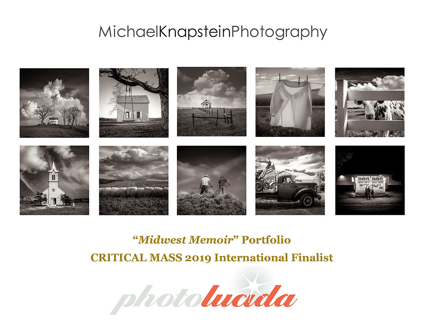 Michael Knapstein has been selected as a 2019 Critical Mass Finalist by Photolucida in Portland, Oregon, USA.