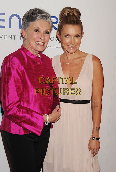 BEVERLY HILLS, CA- JUNE 24: Fashion/beauty consultant Eden Sassoon (R) and mother Beverly Adams attend the 5th Annual Thirst Gala hosted by Jennifer Garner in partnership with Skyo and Relativity's 'Earth To Echo' on June 24, 2014 at the Beverly Hilton Hotel in Beverly Hills, California.<br /> CAP/ROT<br /> &copy;Lee Roth/Capital Pictures
