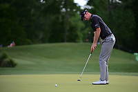 Chris Wood (ENG) watches his putt on 2 during round 1 of the Shell Houston Open, Golf Club of Houston, Houston, Texas, USA. 3/30/2017.<br /> Picture: Golffile | Ken Murray<br /> <br /> <br /> All photo usage must carry mandatory copyright credit (&copy; Golffile | Ken Murray)