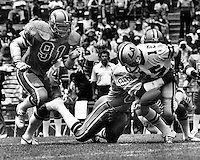 Oakland Invaders vs Los Angeles Express 1983<br />