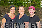 Keeping fit at the Killarney Lions Club 10km mini marathon on Sunday was l-r: Joanne Gaffey, Fiona MacKessy and Christina Fleming Killarney