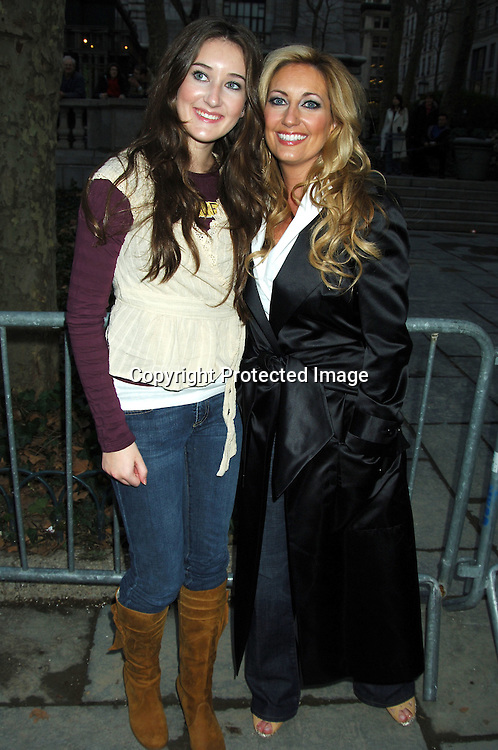 Lee Ann Womack and daughter Aubrie ..at The Heart Truth's  Red Dress Fashion Show on ..February 3, 2006 at Olympus Fashion Week. ..Photo by Robin Platzer, Twin Images