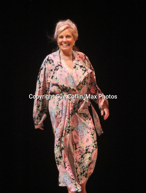 """Curtain Call - Guiding Light's Tina Sloan stars in """"Breathing Under Dirt"""" - full play - had its world premier on August 13 and 14, 2016 at the Ella Fitzgerald Performing Arts Center, University of Maryland Eastern Shore, Princess Anne, Maryland  (Photo by Sue Coflin/Max Photos)"""