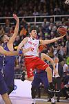 League ACB-ENDESA 2017/2018 - Game: 20.<br /> FC Barcelona Lassa vs Retabet Bilbao Basket: 90-58.<br /> Juan Carlos Navarro vs Lucio Redivo.