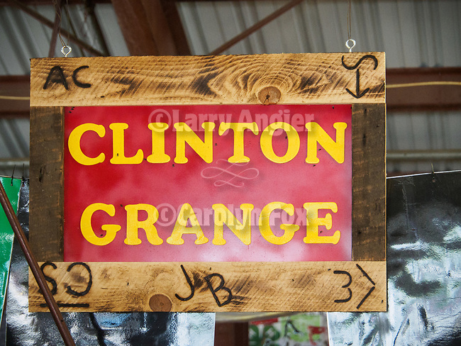 Pig barn signs--Jr. Grange, 4-H, FFA, <br /> <br /> Saturday, Day 3 of the 79th Amador County Fair, Plymouth, Calif.<br /> <br /> Local cowboy ranch rodeo, livestock beauty pageant, youth tractor rodeo, Mutton Bustin' finals<br /> <br /> <br /> #AmadorCountyFair, #PlymouthCalifornia,<br /> #TourAmador, #VisitAmador