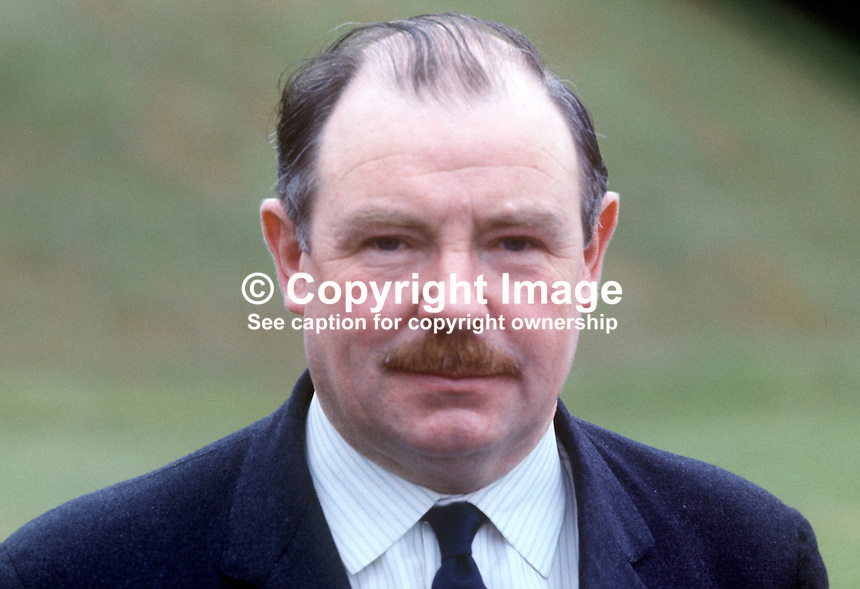 Captain Robert Mitchell, MP, Ulster Unionist, North Armagh, in Northern Ireland Parliament, Stormont. 197007000262<br />