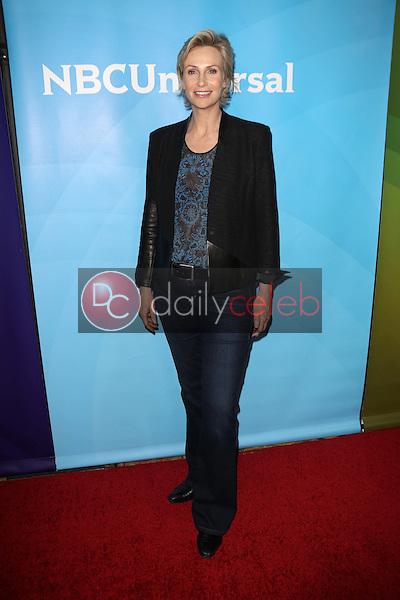 Jane Lynch<br /> at the 2013 NBC Universal Summer Press Day , Langham Huntington Hotel, Pasadena, CA 04-22-13<br /> David Edwards/Dailyceleb.com 818-249-4998