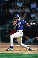 PHOENIX, AZ - Matt Williams of the Arizona Diamondbacks bats against the St. Louis Cardinals during a game at Bank One Ballpark in Phoenix, Arizona in 2001. Photo by Brad Mangin