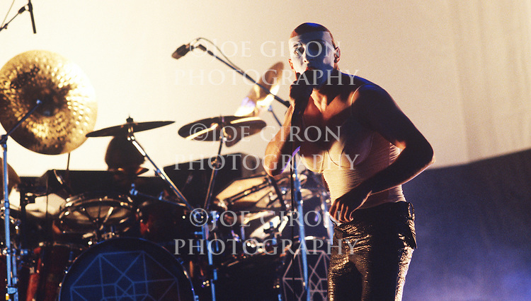 Various portrait sessions and live photographs of the rock band, Tool