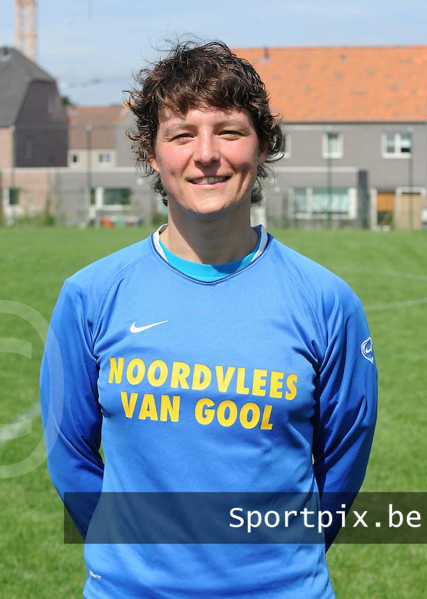 K Achterbroek VV : Elke Somers.foto DAVID CATRY / VROUWENTEAM.BE