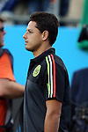 15 July 2015: Javier 'Chicharito' Hernandez (MEX). The Mexico Men's National Team played the Trinidad & Tobago Men's National Team at Bank of America Stadium in Charlotte, NC in a 2015 CONCACAF Gold Cup Group C match. The game ended in a 4-4 tie.
