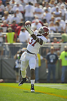 10 September 2011:  Alabama S Robert Lester (37).  The Alabama Crimson Tide defeated the Penn State Nittany Lions 27-11 at Beaver Stadium in State College, PA.