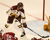 Nick Wolff (UMD - 5) - The University of Minnesota Duluth Bulldogs defeated the Harvard University Crimson 2-1 in their Frozen Four semi-final on April 6, 2017, at the United Center in Chicago, Illinois.