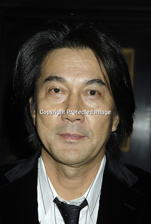 """Actor Koji Yakusho ..arriving at The New York Premiere of """"Memoirs Of A Geisha""""  on December 6. 2005 at The Ziegfeld Theatre...Photo by Robin Platzer, Twin Images.."""