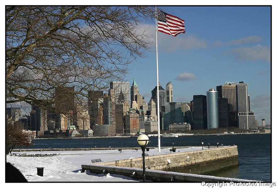 Etats Unis<br /> Hiver &agrave; New York