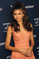 NEW YORK, NY - OCTOBER 03:  Zendaya attends the New York screening of &quot;Withut A Net&quot; at the 55th New York Film Festival on October 3, 2017 at Walter Reade Theater New York City. <br /> CAP/MPI/PAL<br /> &copy;PAL/MPI/Capital Pictures