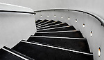 Staircase inside the building of Grosvenor Place in Sydney, NSW, Australia. <br />