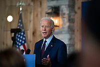 2020 Democratic Presidential candidate, Joe Biden, speaks at a campaign event in Burlington, Iowa on Wednesday, August 7, 2019. Biden is kicking off a 4 day tour of Iowa. <br /> CAP/MPI/RS<br /> ©RS/MPI/Capital Pictures