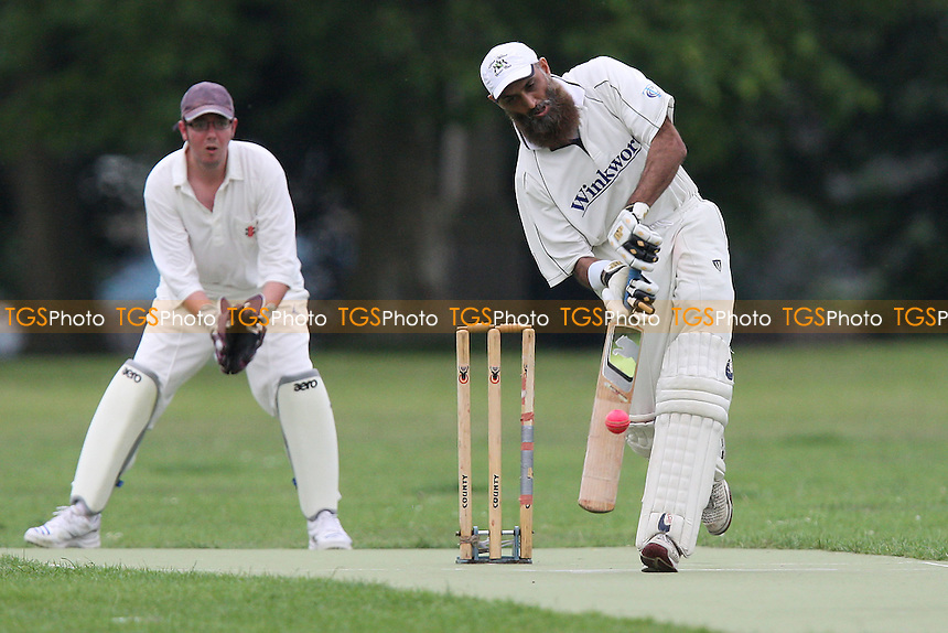 Sky CC (batting) vs Pacific CC - Victoria Park Community Cricket League - 27/06/11 - MANDATORY CREDIT: TGSPHOTO - Self billing applies where appropriate - Tel: 0845 094 6026
