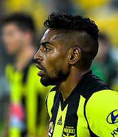 Roy Krishna during the A-League football match between Wellington Phoenix and West Sydney Wanderers at Westpac Stadium in Wellington, New Zealand on Sunday, 17 March 2019. Photo: Dave Lintott / lintottphoto.co.nz