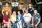 Helen Merritt, Spa Road Tralee, celebrating her 50th birthday with family and friends at the greyhound bar on Friday Pictured Sarah O'Shea, Susan O'Shea, Helen Merritt, Paul Williams, Patrick Griffin Back l-r Adrian Griffin, Michael Griffi, Mary O'Connor and Jeff O'Hare 0861531582