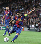 UEFA Champions League, Spain, Camp Nou, FC Barcelona v Viktoria Plzen. Picture show Xavi