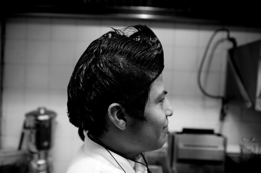 Padrinos restaurant with Chef Robert (Bobby) Craig. Bosques de Duraznos, Mexico City
