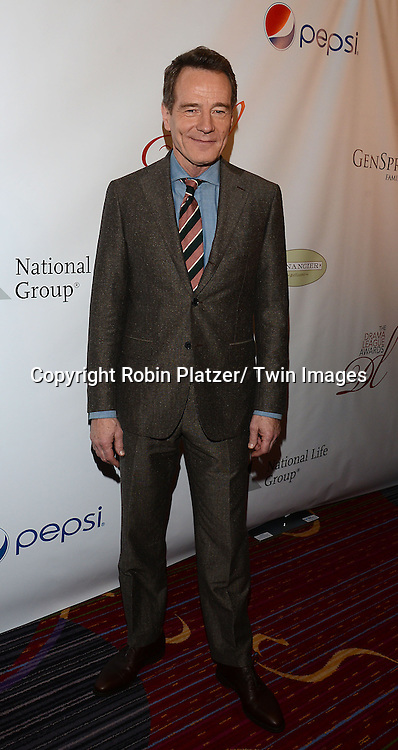 Bryan Cranston attends the 80th Annual Drama League Awards Ceremony and Luncheon on May 16, 2014 at the Marriot Marquis Hotel in New York City, New York, USA.