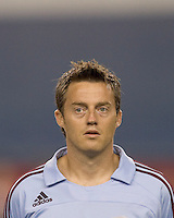 Colorado Rapids midfielder Terry Cooke (11). The New England Revolution defeated the Colorado Rapids, 1-0, at Gillette Stadium in Foxboro, MA on September 29, 2007.