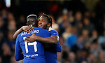 Chelsea's Michy Batsuayi celebrates scoring his sides fifth goal during the champions league match at Stamford Bridge Stadium, London. Picture date 12th September 2017. Picture credit should read: David Klein/Sportimage