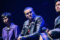 """NEW YORK - OCTOBER 5: Karl Glusman attends the panel for FX's """"DEVS"""" during the 2019 NY Comic-Con at Hammerstein Ballroom on October 5, 2019 in New York City. (Photo by Anthony Behar/FX/PictureGroup)"""