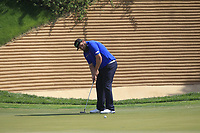 Andrew Johnston (ENG) in action on the 18th during Round 4 of the Hero Indian Open at the DLF Golf and Country Club on Sunday 11th March 2018.<br /> Picture:  Thos Caffrey / www.golffile.ie<br /> <br /> All photo usage must carry mandatory copyright credit (&copy; Golffile | Thos Caffrey)