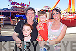 Pictured at Bird's Bazaar on Thursday are the Hayes family, from left: Lauren, Penny, Ryan and Emer Hayes, from Tralee.