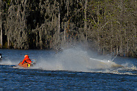 Frame 1: Serena Durr 96-F, Erin Pittman 6-H crash. (Outboard Hydroplanes)