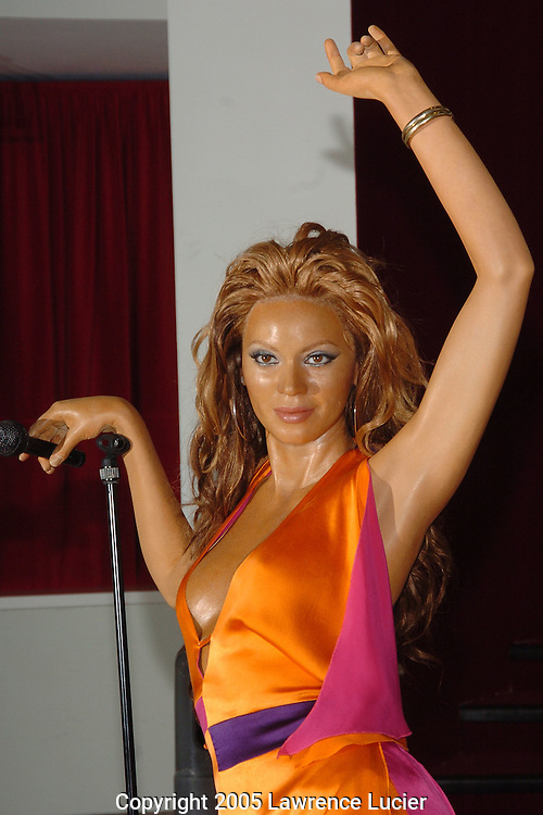 Beyonce Knowles' wax figure