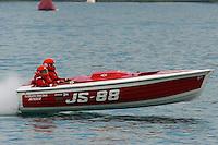 JS-88, Jersey Speed Skiff..10-12 July, 2009, 100th Gold Cup, Detroit River, Detroit, MI USA..©2009 F.Peirce Williams, USA.