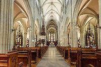 Austria, Styria, Admont: minster of Admont Abbey, interior | Oesterreich, Steiermark, Admont: Stift Admont, Stiftskirche, innen
