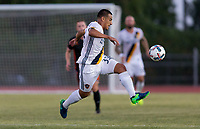 Carson, CA - Wednesday June 14, 2017: The Los Angeles Galaxy beat the Orange County Soccer Club 3-1 in a 2017 US Open Cup game at StubHub center track & field stadium.