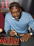 """Sahr Ngaujah during the """"Moulin Rouge! The Musical"""" - Vinyl Release signing at Sony Square on December 13, 2019 in New York City."""