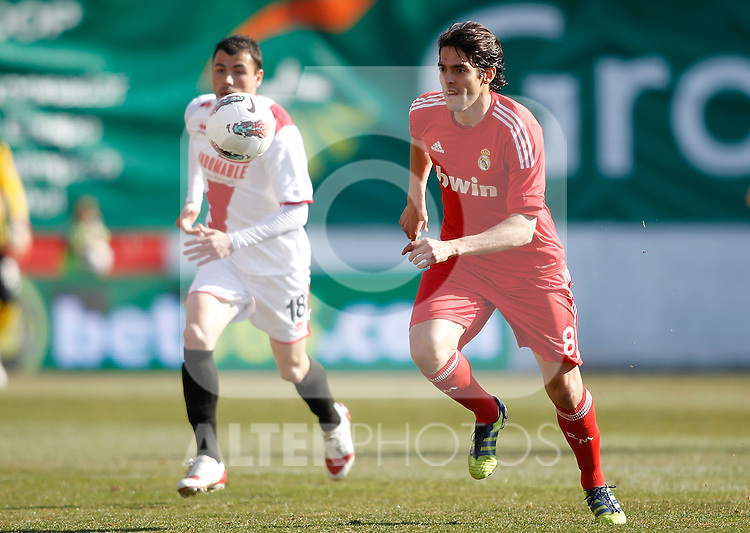 Real Madrid's Kaka during La Liga Match. February 26, 2012. (ALTERPHOTOS/Alvaro Hernandez)