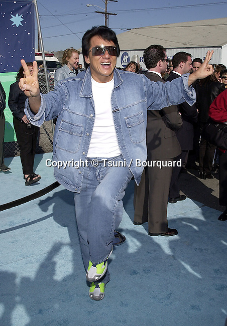 Jackie Chan arriving at The 14th Annual Kids Choice Awards from NickelOdeon at the Barker Hangar in Santa Monica, Los Angeles  4/21/2001  208_ChanJackie005.JPG