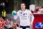 Eskilstuna 2014-10-03 Handboll Elitserien Eskilstuna Guif - Alings&aring;s HK :  <br /> Sk&ouml;vdes Linus Lake i aktion <br /> (Foto: Kenta J&ouml;nsson) Nyckelord:  Eskilstuna Guif Sporthallen IFK Sk&ouml;vde HK portr&auml;tt portrait